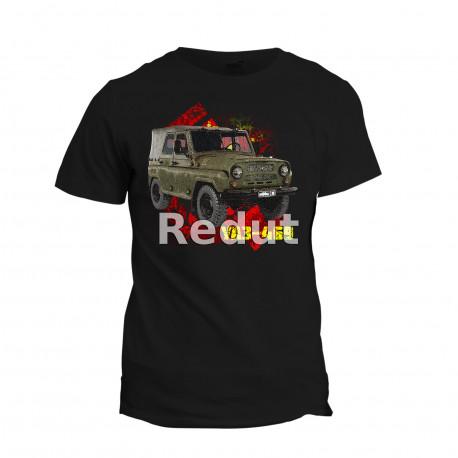 Tričko s potiskem UAZ-469
