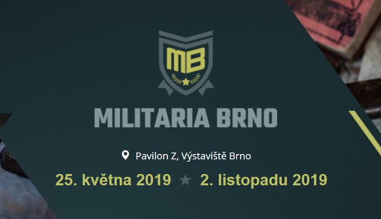 Největší burza militárií ve Střední Evropě přímo na výstavišti v Brně!